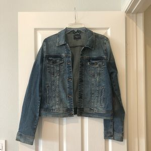 NWT just USA stitch fix denim jacket m medium